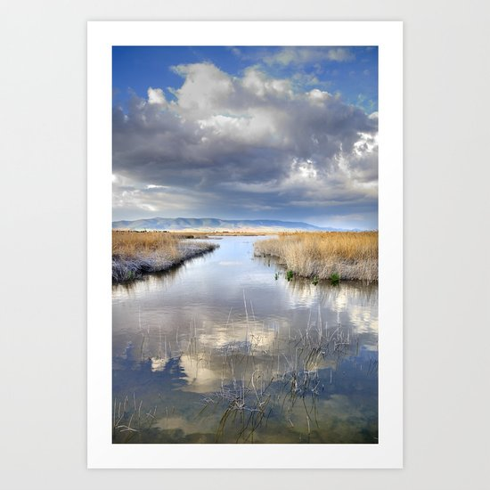 the way for major storms Art Print