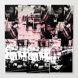 Concrete Jungle 1 Canvas Print