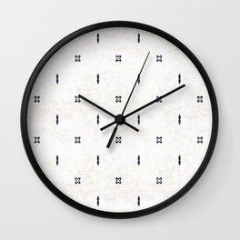 FRENCH LINEN BOHO Wall Clock