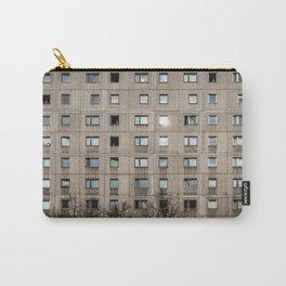 Plattenbau - gdr architecture building facade Carry-All Pouch