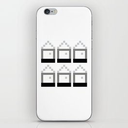 Houses of Squares iPhone Skin