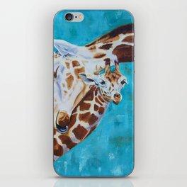 Giraffe Calf Willow iPhone Skin