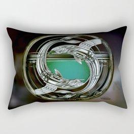 """""""Astrological Mechanism - Pisces"""" Rectangular Pillow"""