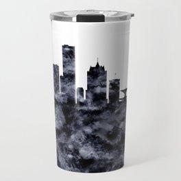 Milwaukee Skyline Wisconsin Travel Mug
