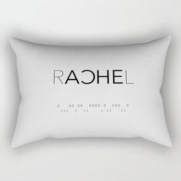 Rachel Duncan Binary Rectangular Pillow
