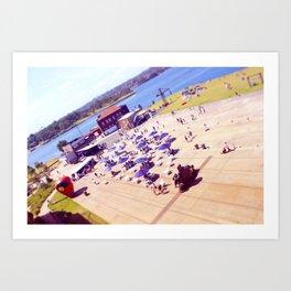 Cockatoo Island Art Print