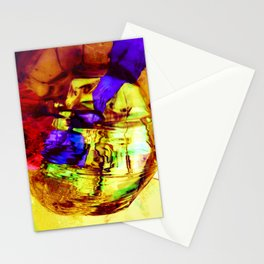 Water Dust Stationery Cards
