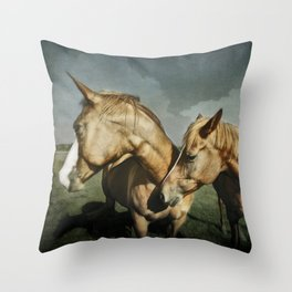 Life Partners Throw Pillow