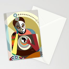 Deep Reflection Stationery Cards