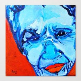 Ometeotl en el Cielo Chavela Vargas Canvas Print