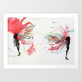 LACK OF TOUCH Art Print