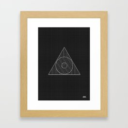 weExist Framed Art Print