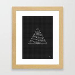 weExist Framed Art Print