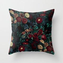 Night Garden XXXI Throw Pillow