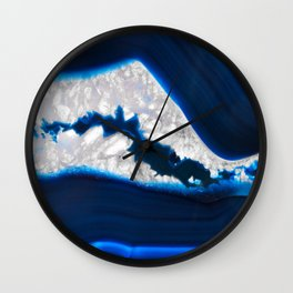 Electrical Agate Wall Clock
