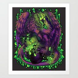 Rapid Decay Art Print