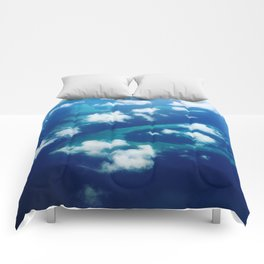Islands and Clouds Comforters