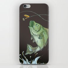 Bass Jumping At Night iPhone & iPod Skin