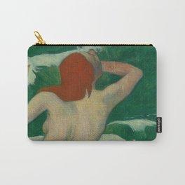 In The Waves Dans Les Vagues Paul Gauguin  Carry-All Pouch
