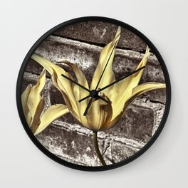 Living in the Real World Wall Clock