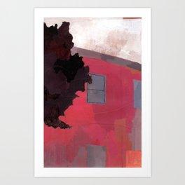 BROOKLYN BUILDINGS #1 Art Print