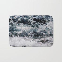 SEA - OCEAN - WAVES - WATER - NATURE Bath Mat