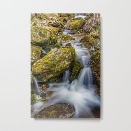 Tasmanian Waterfall Metal Print
