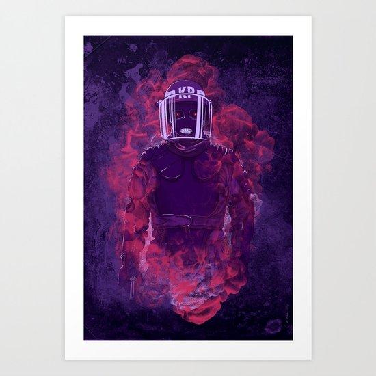 Karma Police Art Print