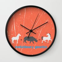 evolution Wall Clocks featuring Evolution by Tony Vazquez