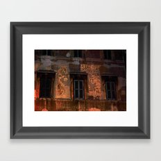 Three - Windows Framed Art Print