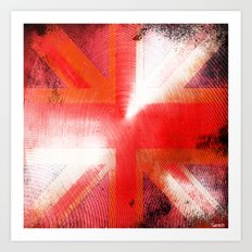 God save the Union Jack Art Print