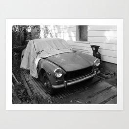 Antique car Art Print