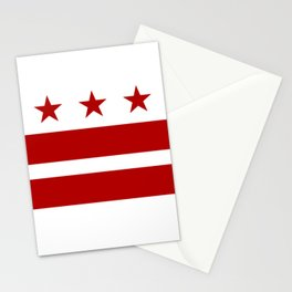 Washington DC District Of Columbia Flag Stationery Cards