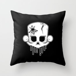 yeknomster Throw Pillow