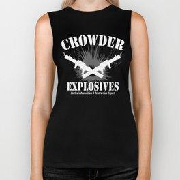 Crowder Explosives Biker Tank