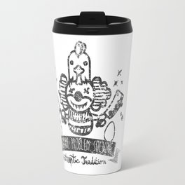Crazy Clown Travel Mug