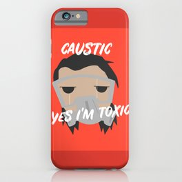 Caustic Mains Apex legends iPhone Case
