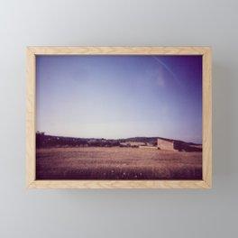 Fields of Summer Framed Mini Art Print