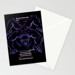 The Lurking Unknown (7 Lords of Fear) Stationery Cards