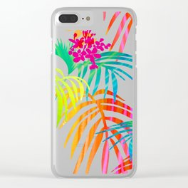 Bright Tropical Clear iPhone Case