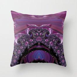 Mona Elisa Throw Pillow