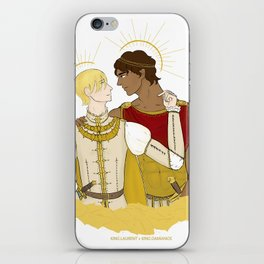 kind laurent and king damianos iPhone Skin
