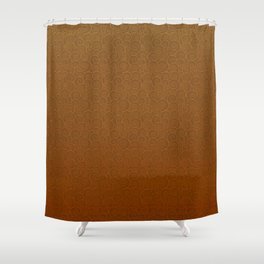 Mei Skin Persimmon Pattern Shower Curtain