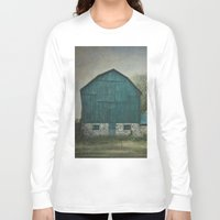 rustic Long Sleeve T-shirts featuring Rustic Barn by Pure Nature Photos