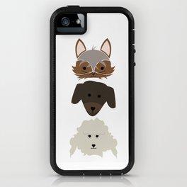 Three Pups iPhone Case