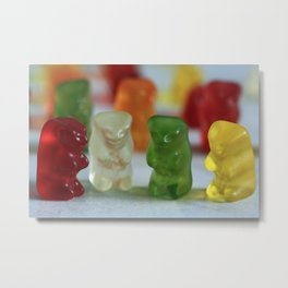 Gummy Bear Meeting Metal Print