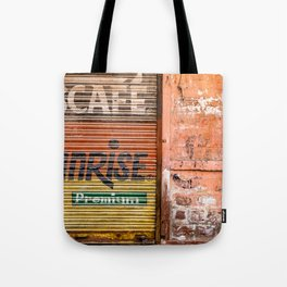 Indian Pink Walls Tote Bag