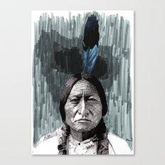 Sitting Bull Canvas Print