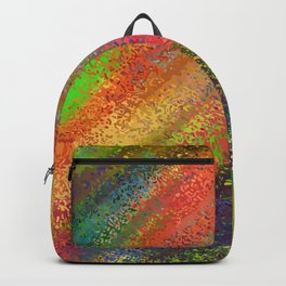 Abstract crayon background Backpack