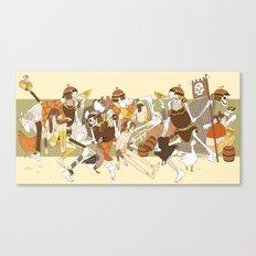 mahara-scene Canvas Print